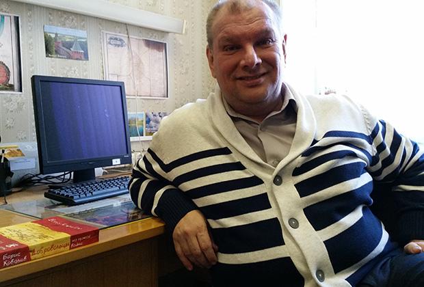Профессор Борис Ковалев, автор книги «Добровольцы на чужой войне»