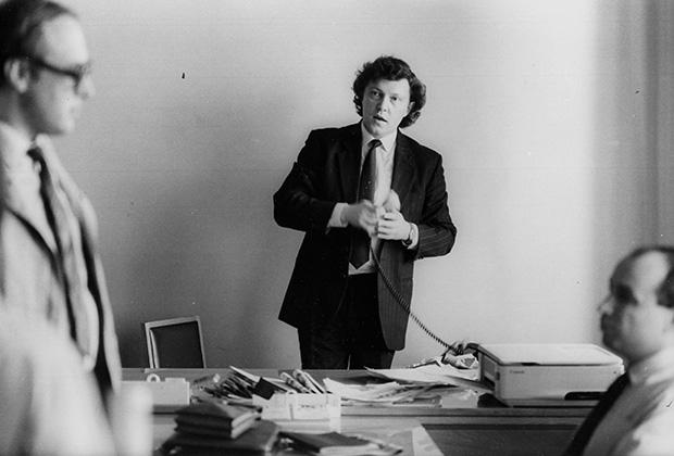 Григорий Явлинский, 1989 год