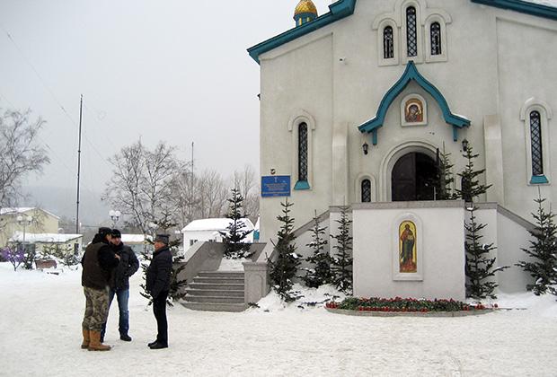 Воскресенский кафедральный собор в Южно-Сахалинске