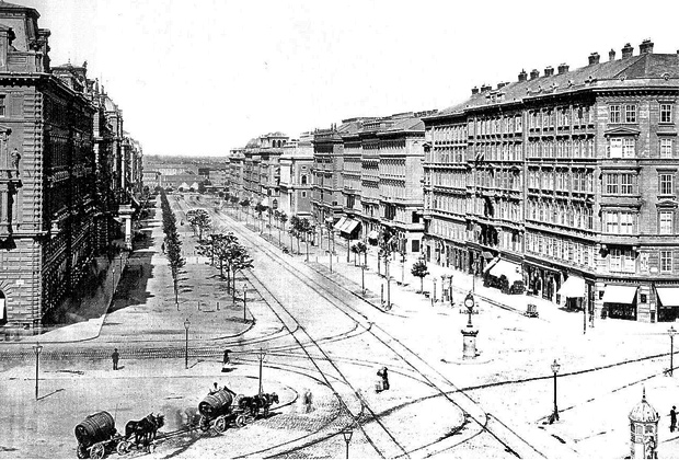 Вена в 1875 году