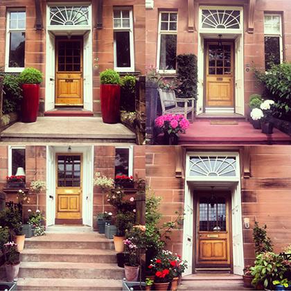 Подъезды домов в West End