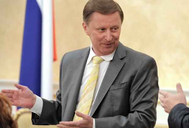 Глава администрации президента Сергей Иванов