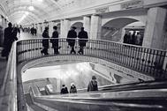 Пересадочный узел на станции Московского метрополитена «Проспект Маркса» («Охотный Ряд»)