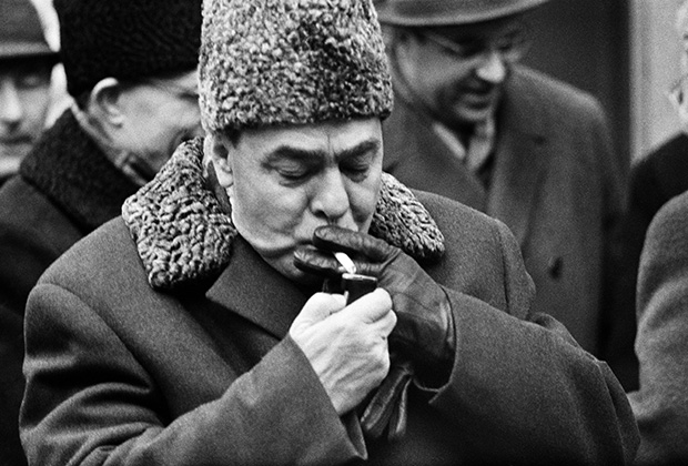 Леонид Брежнев, 1966 год