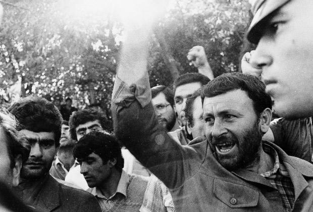 Карабахский конфликт. Митинг.