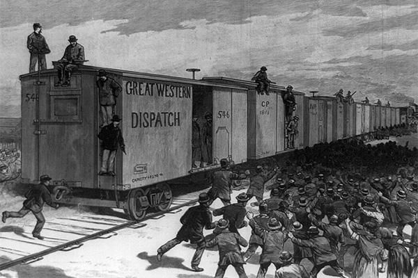 Забастовка рабочих в США, 1886 год
