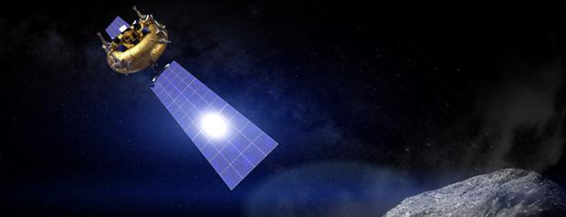 Эскиз спутника проекта Planetary Resources