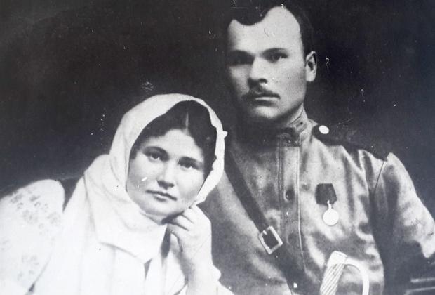 Ферапонт Головатый с женой Марией