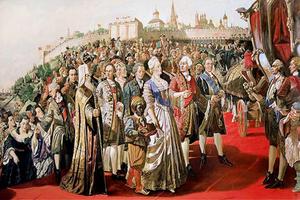 «Приезд Екатерины II в Казань», художник Ильяс Файзуллин. 2005 год