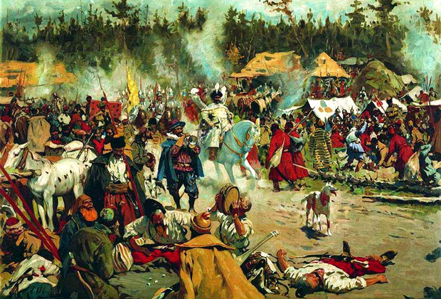 Лжедмитрий II в Тушинском лагере