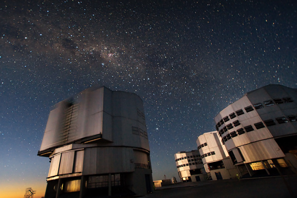 The VLT is the world's most advanced optical instrument, consisting of four Unit Telescopes