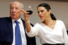 Генеральный прокурор Израиля Иегуда Вайнштейн и Аелет Шакед