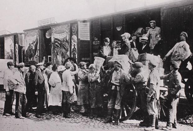 Агитпоезд красных на Восточном фронте, 1919 год