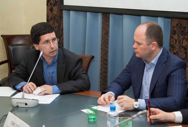 Антон Цветков (справа) и Михаил Чернов