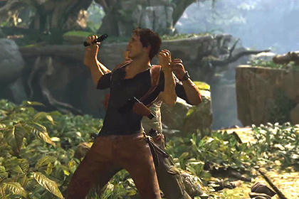 Кадр из игры Uncharted 4