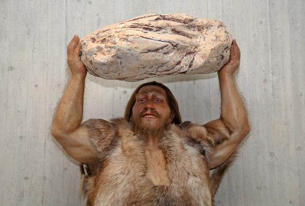 Mettmann, North Rhine-Westphalia, Germany - The Neanderthal Museum in Mettmann