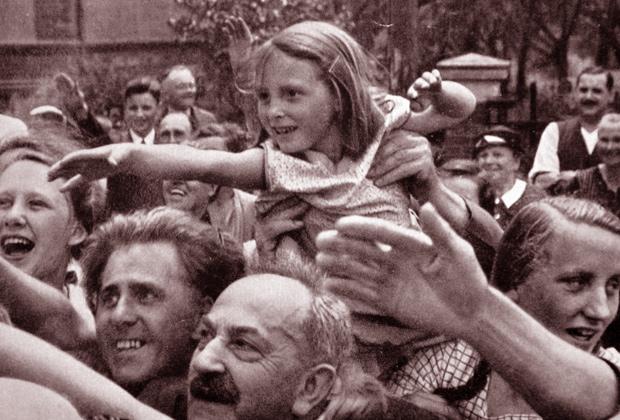 Демонстрация в поддержку Гитлера, 1934 год