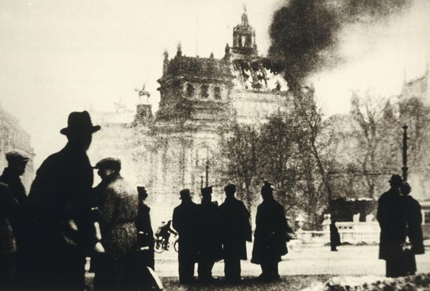 Горящий Рейхстаг, 1933 год