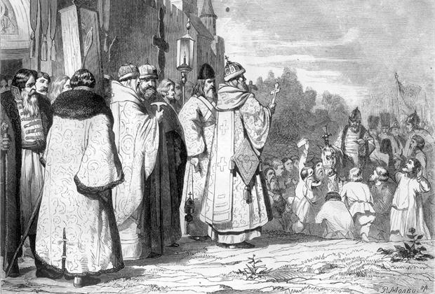 Возвращение Ивана Грозного из казанского похода