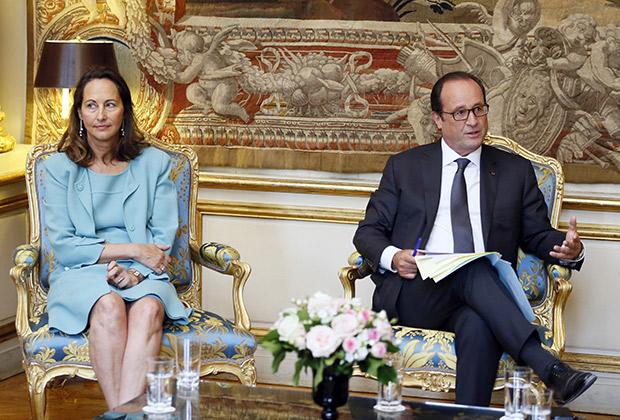 Сеголен Руаяль и Франсуа Олланд