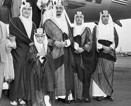 Саудовские принцы в США, 1947 год