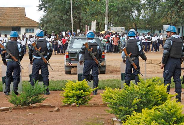 Миротворцы ООН в Демократической республике Конго
