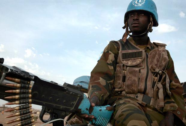 Нигерийский миротворец в Дарфуре