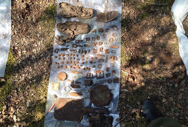 Земля Брестской крепости закована в латы из тысяч бомб и снарядов