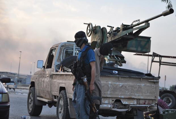 Бойцы армии «Исламского государства»