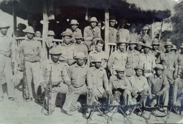 Парагвайские солдаты