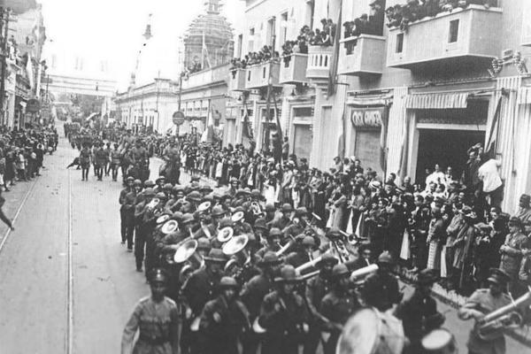 Парад победы в Асунсьоне, 1935 год