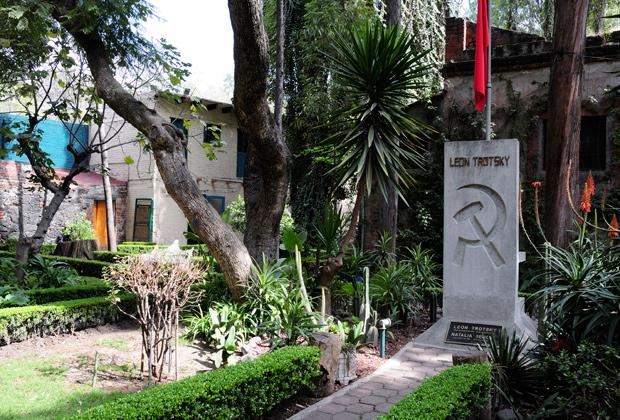 Могила Троцкого, Мехико, Мексика