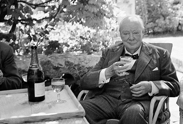 Черчилль и алкоголь