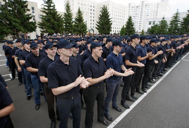 Первый выпуск полицейской академии