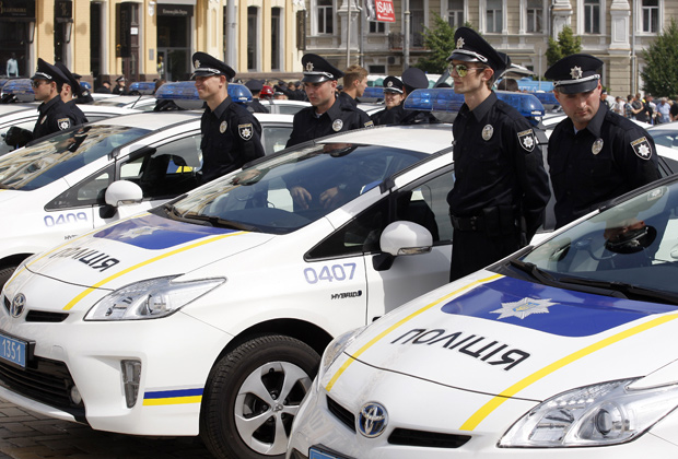 Патрульная полиция, Киев