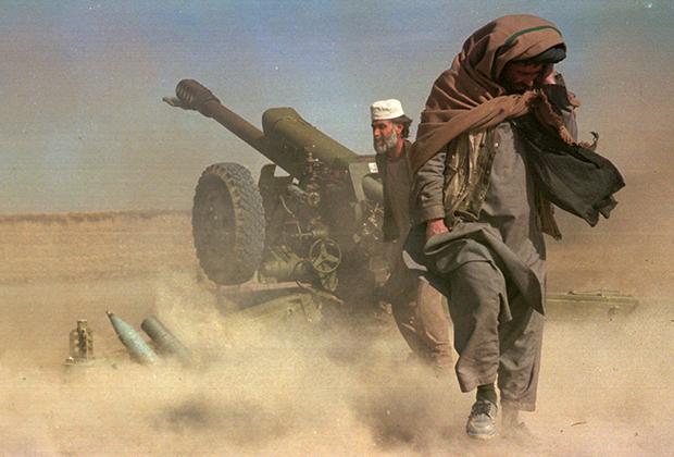 Талибы ведут огонь по силам «Северного альянса», 1997 год