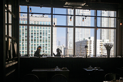 Ресторан Lotte World в Сеуле