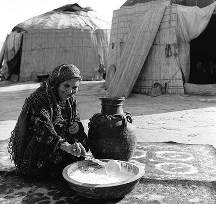 В Туркмении чал готовят только женщины