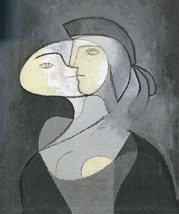 Лицо Мари-Терез в профиль, 1931