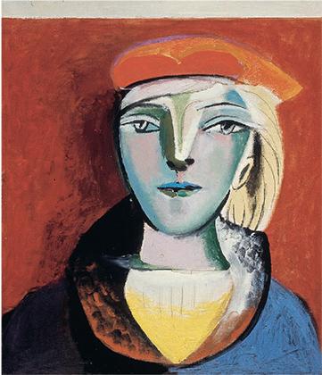 Портрет Мари-Терез Вальтер в красном берете. 15 января 1937.
