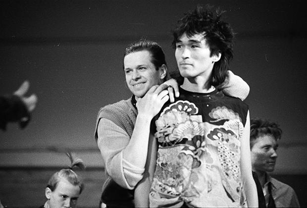 Борис Гребенщиков и Виктор Цой. 1983 год