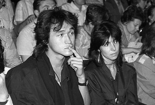 Виктор Цой и Наталия Разлогова. Одесса, 1989 год