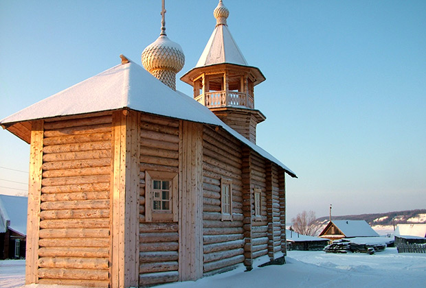 Храм в селе Бахта