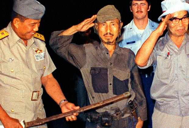 Хироо Онода сложил оружие. Остров Лубанг, март 1974 года