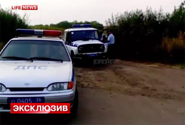 Оперативная съемка задержания Владимира Меркулова
