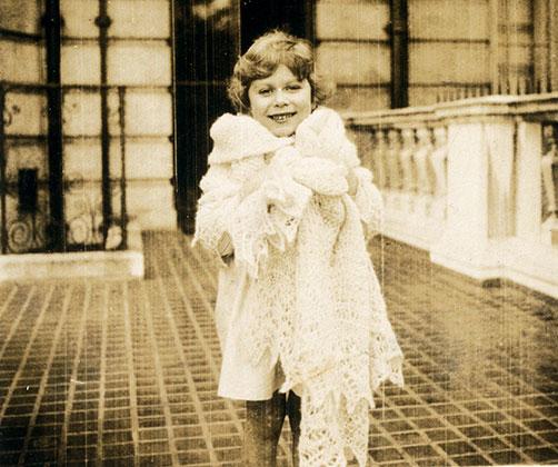 Елизавета в четырехлетнем возрасте