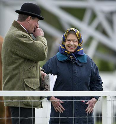 Елизавета II на конном шоу