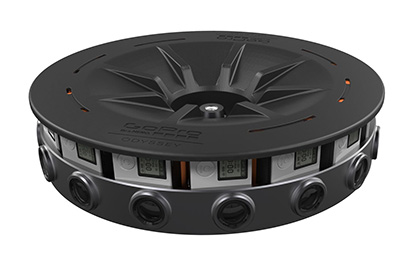 GoPro Odyssey Virtual Reality Camera