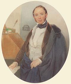Барон А. Штиглиц в молодости