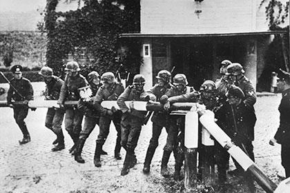 Немецкие войска на германо-польской границе